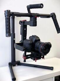 DJI Ronin-M Lightweight Handheld 3-Axis Camera Gimbal + Extras!