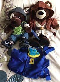 Build A Bear Teddys & Clothes - suitable for Boys