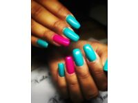 Gel nails/ gel polish manicure/ nail designe
