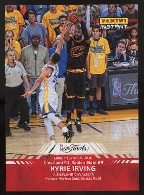 2016 Panini Instant NBA #12 Kyrie Irving 1/233 The Finals