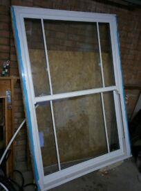 Double Glazed UPVC Sash Window