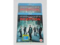 DVD FILM MOVIE BLURAY INCEPTION TRIPLE PLAY SET BLU-RAY DVD COMBO
