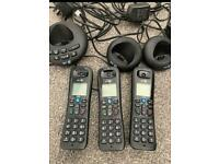 BT cordless landline phones