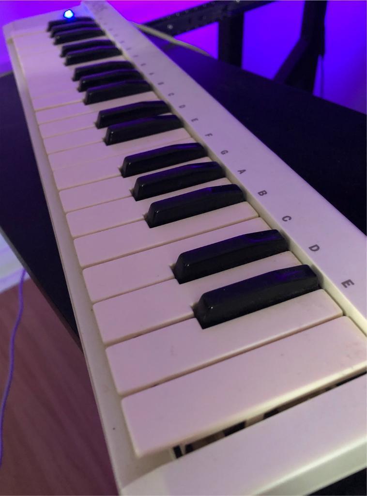 **USED** Evolution Ekeys 37 - 37 Note Mini Keys Midi Controller Keyboard  With Usb Computer Interface | in Lochend, Edinburgh | Gumtree