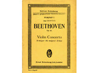 Miniature scores - concertos