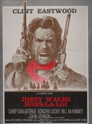 Clint EASTWOOD french Pressbook JOSEY WALES