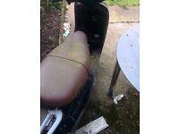 VESPA ET4 125 CAT C SPARES OR REPAIRS
