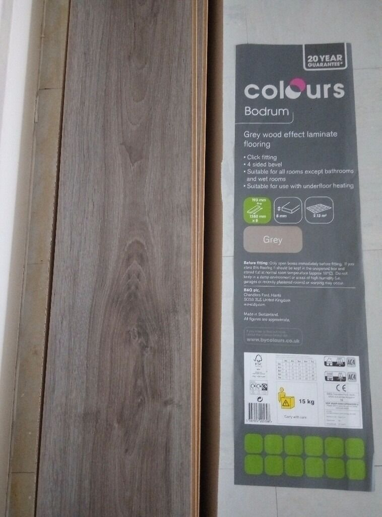 B Q Bodrum Laminate Flooring 1 Pack 2 13sqm