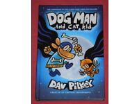 'Dog Man & Cat Kid' Hardback Graphic Novel (as new)
