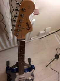Squier electric guitar *Excellent condt*