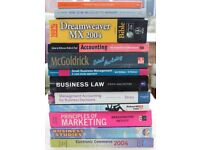 Business, Marketing and Management Books. 12 Books.