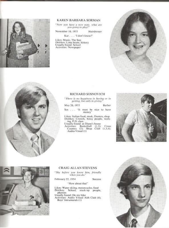 1971 SEYMOUR HIGH SCHOOL YEARBOOK, SPIRIT