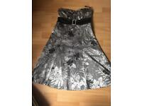 Strapless Jane Norman dress