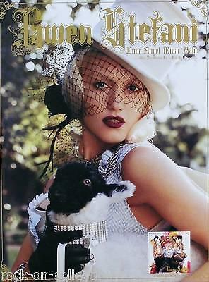 GWEN STEFANI 2004 LOVE ANGEL MUSIC BABY PROMO POSTER ORIGINAL
