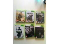 Call Of Duty & Skyrim Xbox 360
