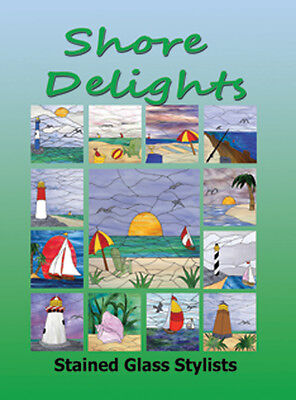 NEW STAINED GLASS PATTERN BOOK!! SHORE DELIGHTS