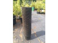 65 x 10 litre Black Plastic Plant Pots - Still in Netting - Never Used