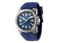 Timberland Men's TBL.94471AEU/03P Quartz Watch with Blue Dial Analogue Display and Silicone Strap