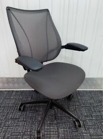 Humanscale Liberty Ergonomic Task/Office Chair. Better than Herman Miller Aeron/Mirra/Steelcase