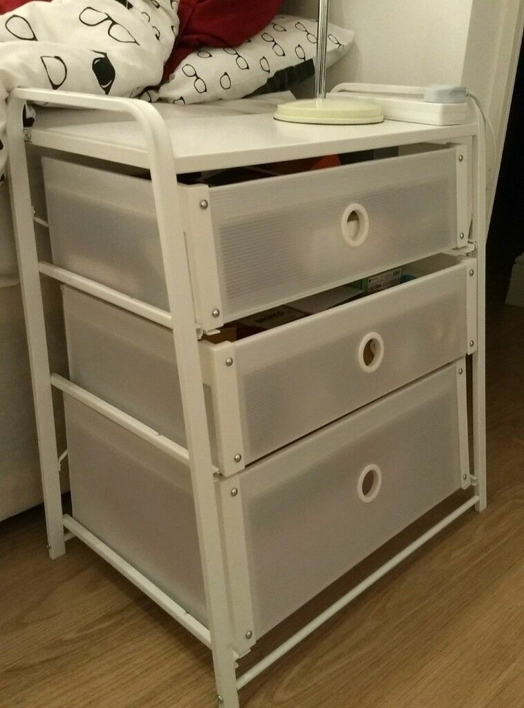 Bed side table/office drawers unit