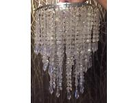 Crystal chandelier light shade