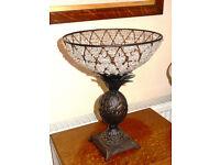 Art Deco Style Fruit Bowl - Pineapple Base