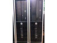 HP 8200 desktop tower, Core i5 2.5GHz, 1TB HDD, 8GRAM, MS Office, Windows 7