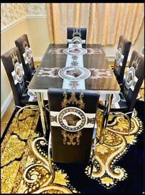 CASH ON DELIVERY--TURKISH 6 CHAIRS DINING TABLE SET FOR SALE