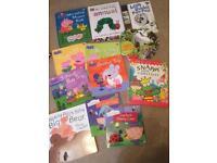 12 toddler/ children's books