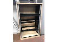 Double Door Tambour Unit With Floating Filing System