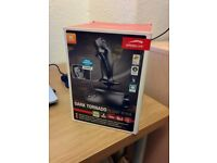 Speedlink Dark Tornado USB Flightstick with Force Vibration for Sale. Mint Condition