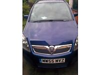 Vauxhall zafira 1.6 petrol for sale with 91100 mileage on clock