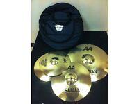 aa sabian rock performance cymbal set