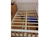 Double bed frame, new, used for only 2 weeks