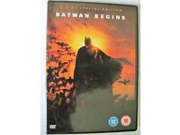 Batman Begins - (DVD, 2-Disc Set)