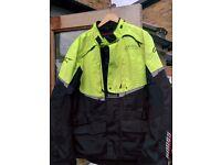 Alpinestars Andes Drystar Waterproof Motorbike Jacket. XL