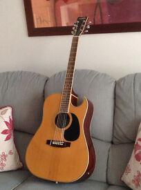 Rare `90s electro acoustic guitar