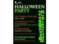 Fundraising Halloween Party