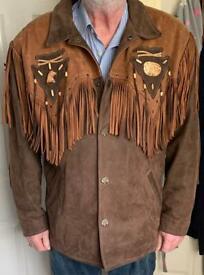 Western Suede/Leather Jacket