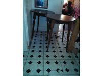 2 x Bar style Tables