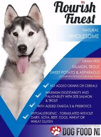 Grain Free, Natural Dog Food, Next Day Delivery, Hypoallergenic