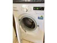 Nearly New Whirlpool 6th Sense Washing Machine, 7kg Fast 1400 spin, A+++, digital readout