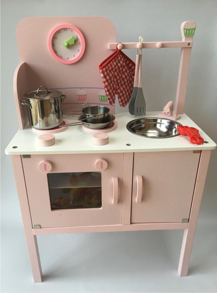 Pink girls kitchen