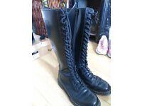 Dr.Martens long black boots
