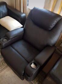 Rocker reckliner massage chair