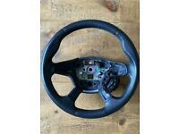 Ford Focus mk3 leather steering wheel