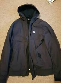 Fred Perry Brentham Hooded Jacket - Large