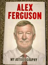 Sir Alex Ferguson Signed Autobiography with Coa