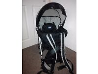 Chicco Caddy Backpack Baby Carrier with sun and rain cover