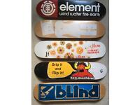 NOS skateboard decks